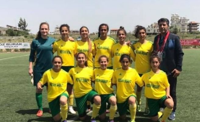 Kızlarımız Hatay'a Gol Yağdırdı : 7-0