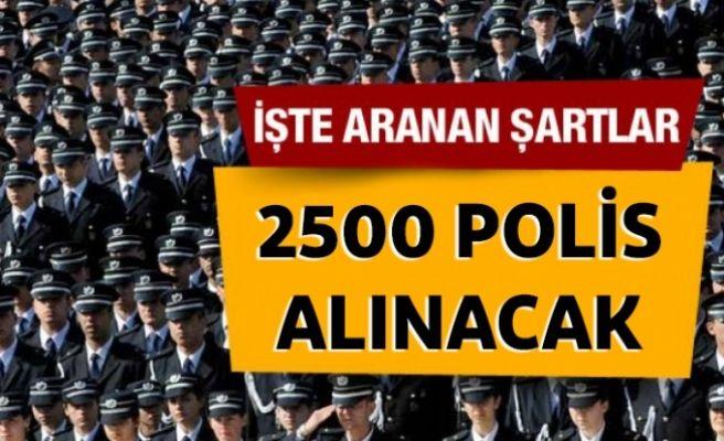 Lise Mezunu 2500 Polis Alınacak