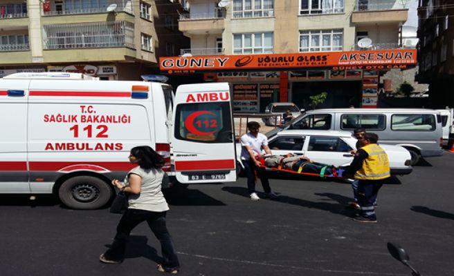Urfa'da motosiklet kazası, 1 yaralı