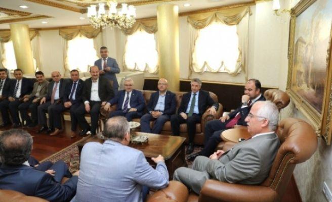Belediye Başkanları Şanlıurfa'da