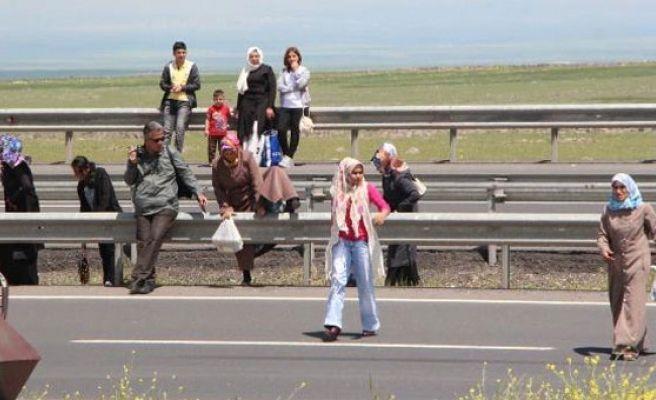 Şanlıurfa'da Cezaevine Tehlikeli Geçiş