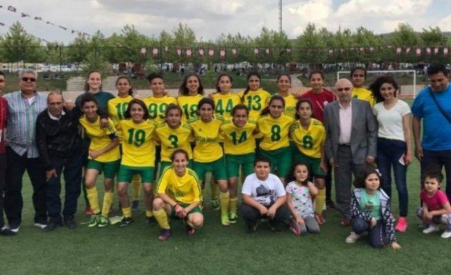 Gençlikspor Kızlarından Gol Şov : 10-1