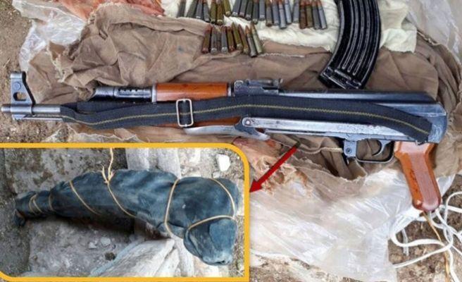 Silvan'da Uçaksavar Silahı Ele Geçirildi