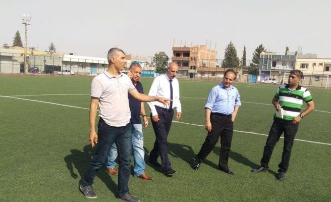 ASKF Heyeti Viranşehir İle Ceylanpınar'da
