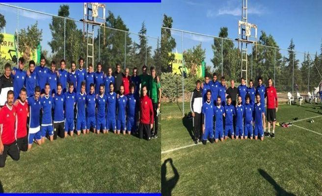 Osmaniyespor FK  Kızılcahamam'da Kampa Girdi