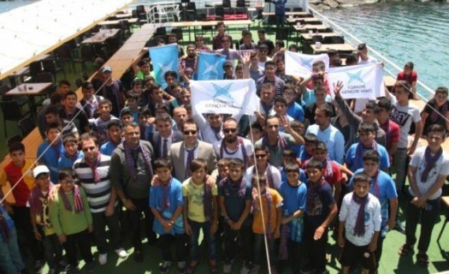 Şanlıurfalı Öğrenciler Trabzon'u Gezdi
