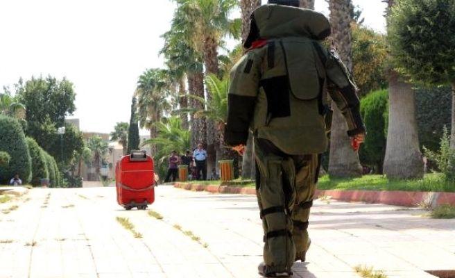 Urfa'da  Valiz Bomba Paniği Yaşattı