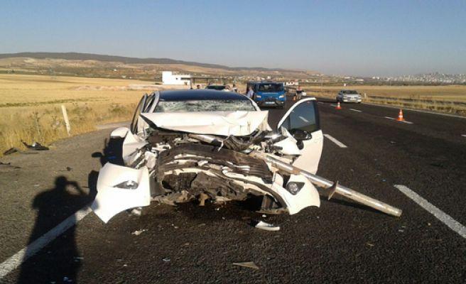 Bozova Yolunda Trafik Kazası, 6 yaralı