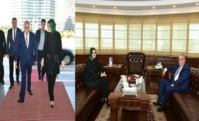 Aile Sosyal Politikalar Bakanından Fakıbaba'ya Ziyaret