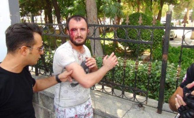 Engelliye Şiddet Uygulayınca Dövüldü