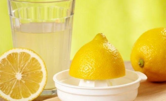 Limon Suyunun İnanılmaz Faydaları!