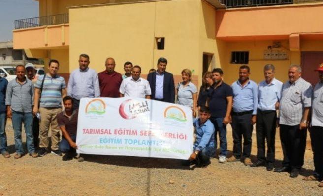 Harran'da Milli Tarım Seferberliği