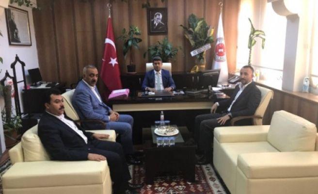 Siverek Cumhuriyet Başsavcısı Karataş'a Ziyaretler Sürüyor
