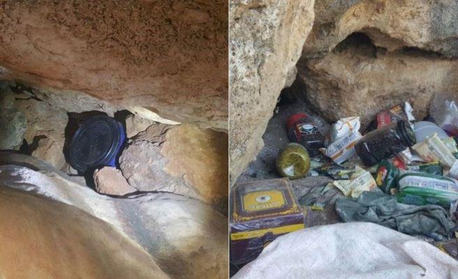 Diyarbakır'da 4 PKK sığınağı imha edildi