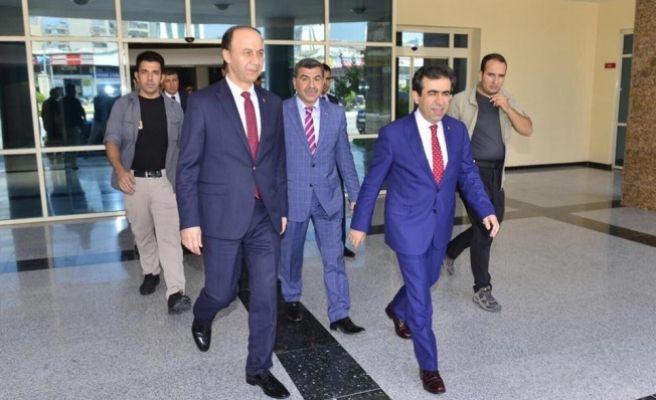 Diyarbakır Valisi Şanlıurfa'da