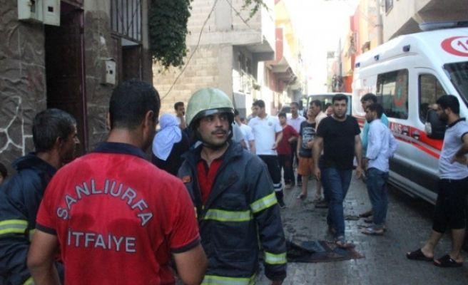 Eyyübiye'de Çıkan Yangından 3 Kişi Etkilendi