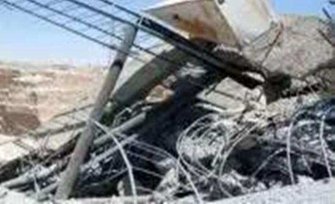 Urfa'da Gerilen Çelik Halat İki Kişiyi Yaraladı