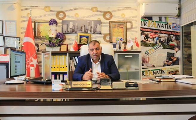 ŞUÇGAD Başkanı Gülebak'tan 30 Ağustos Zafer Bayramı Mesajı