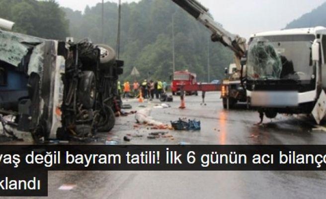 Savaş Değil Bayram Tatili : 61 Ölü 310 Yaralı