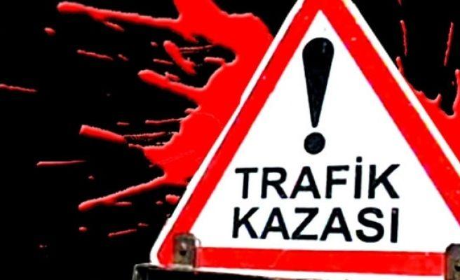 Şanlıurfa Akabe Yolunda Feci Trafik Kazası