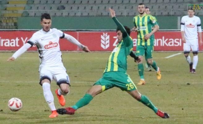 Urfaspor Kupa'da Pazarspor'a Karşı