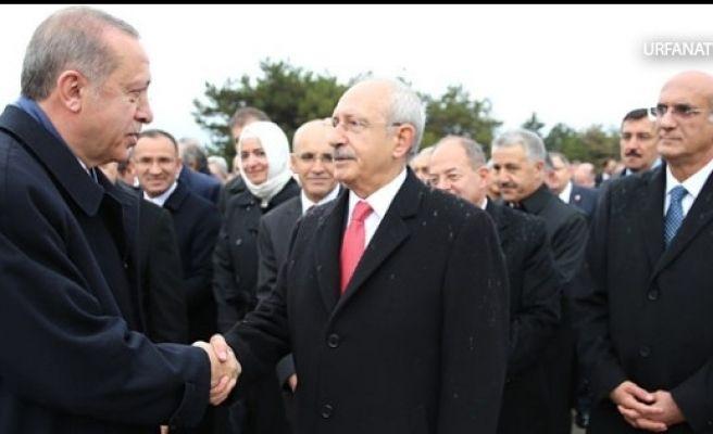 Erdoğan ve Kılıçdaroğlu'nu Cumhuriyet Bir Araya Getirdi