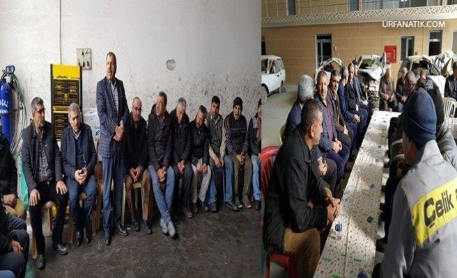 Mustafa Arslan Seçim Çalışmalarına Hız Verdi