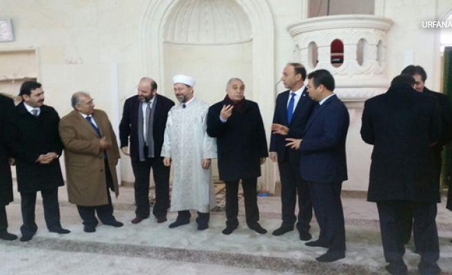 Cezaevi Cami açılışı, Afrin'deki Askerlere Dua Edilerek Açılış Gerçekletirdi