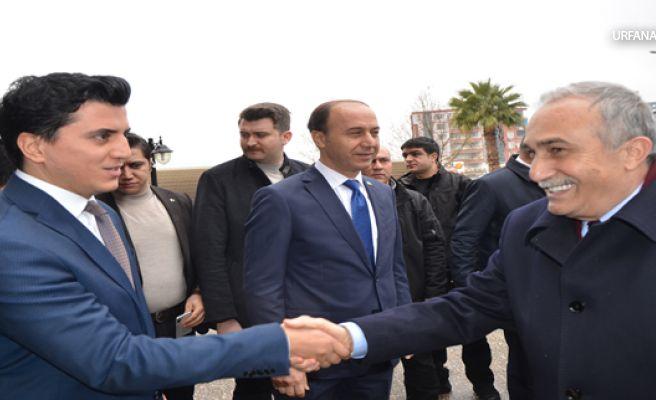 Bakan Fakıbaba ve Erbaş Valiliği ziyaret etti