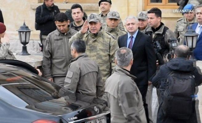 Orgeneral Akar Sınır Birliklerini Denetledi
