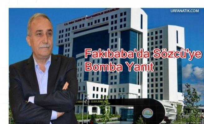 Dört Gözle Beklenen Cevap Fakıbaba'dan Geldi