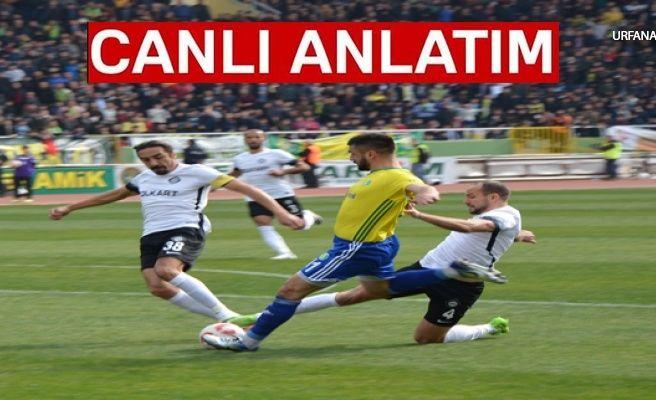Şanlıurfaspor : 2 Altayspor : 1 Maç Bitti