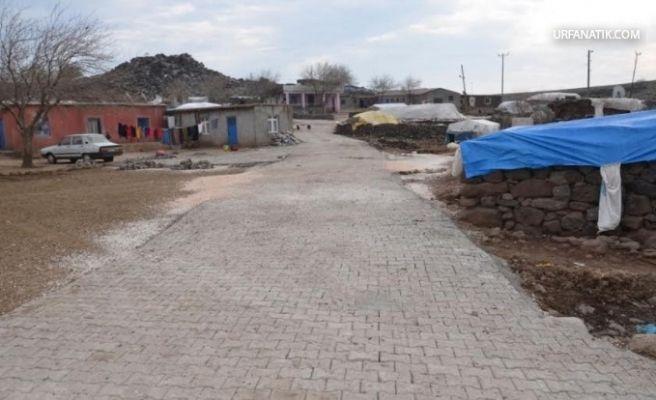 Zok Kırsal Mahallesinde Kilit Taşı Çalışmaları Tamamlandı