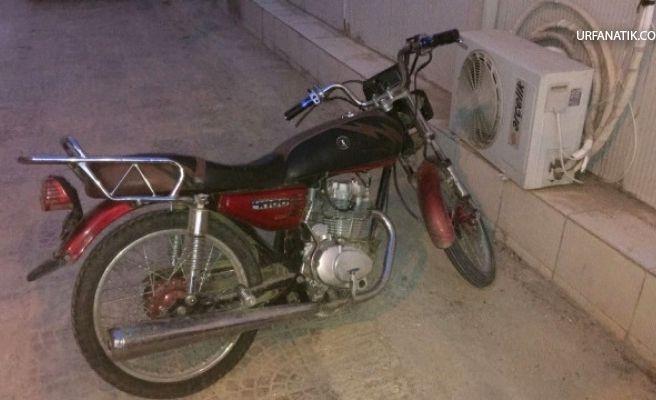 Motosiklet Çalan Şahısın Üzerinde Uyuşturucu Çıktı