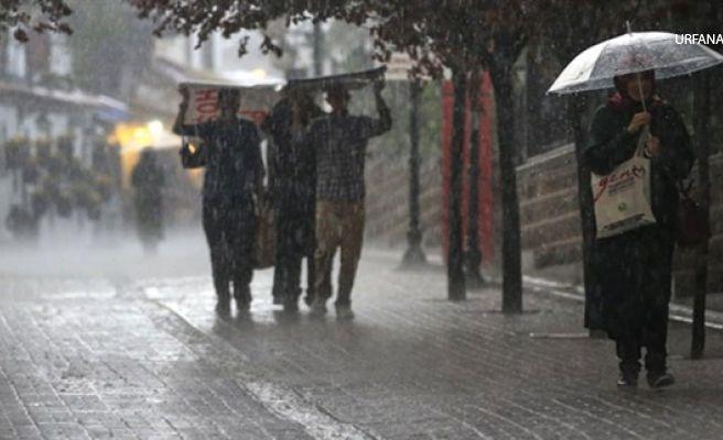 Şanlıurfa'da Şiddetli Yağış Uyarısı