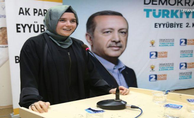 AK Parti Şanlıurfa İl Kadın Kolları Başkanı Güven'den Anneler Günü Mesajı