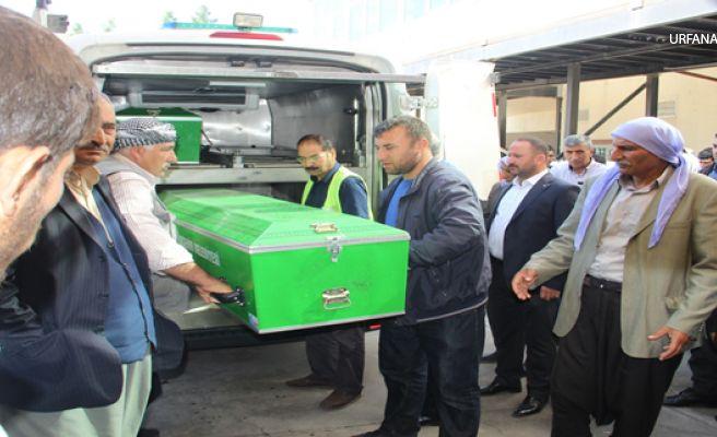 Urfa'daki kazada hayatını kaybeden  Aile Yan Yana Defin Edildi