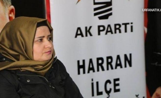 Harran AK Parti İlçe Kadın Kolları Başkanı Huriye Biter