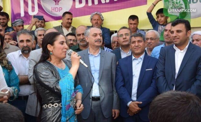HDP Viranşehir'de Adaylarını Tanıttı