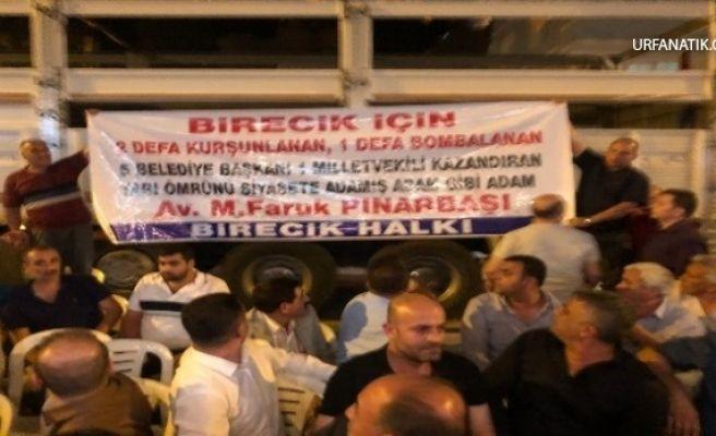 Birecik Belediye Başkanı Pınarbaşı Suskunluğunu Bozdu