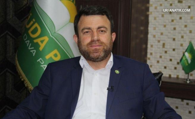 HÜDA PAR Genel Başkanı Şanlıurfa'ya geliyor