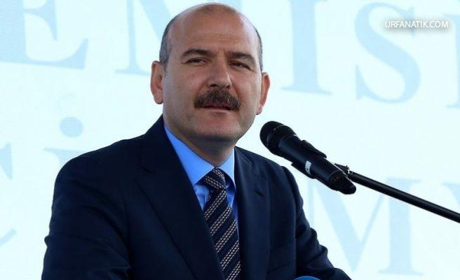 İçişleri Bakanı Soylu: Suruç'taki olayın sebebi ve müsebbibi İnce'dir