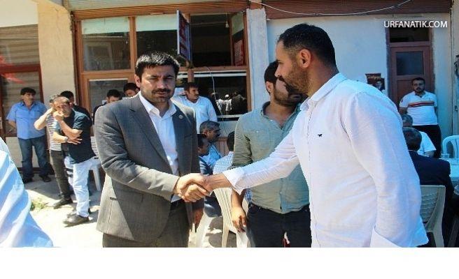 Milletvekili Yıldız'a Taziye Ziyaretleri Sürüyor
