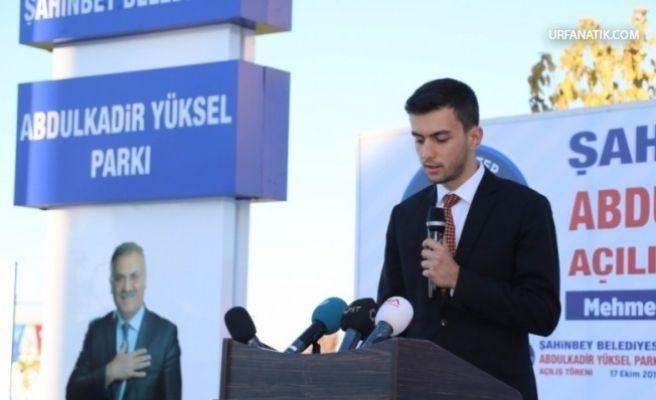 Urfalı Yüksel Gaziantep'te Milletvekili Oldu