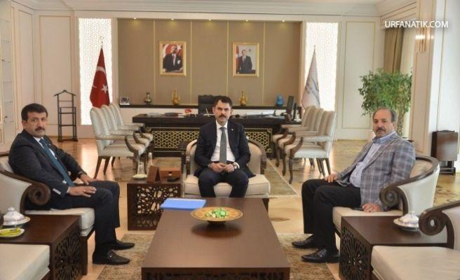 Başkan Ekinci Kentsel Dönüşüm İçin Bakan'dan Destek İstedi