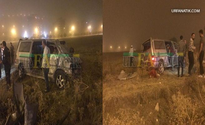 Şanlıurfa'da Minibüs Takla Attı 1 Yaralı