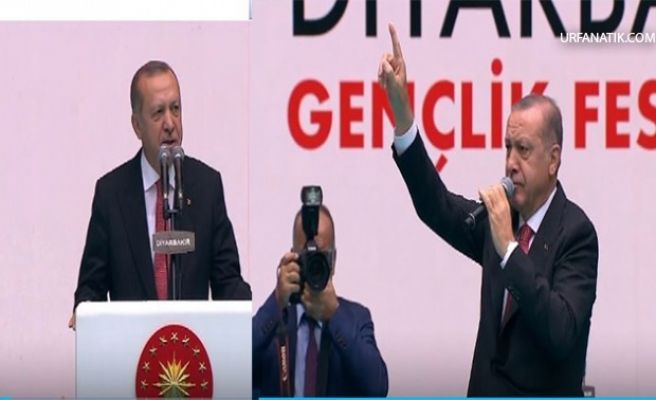 Cumhurbaşkanı Erdoğan Komşu İlde Önemli Açıklamalarda Bulundu