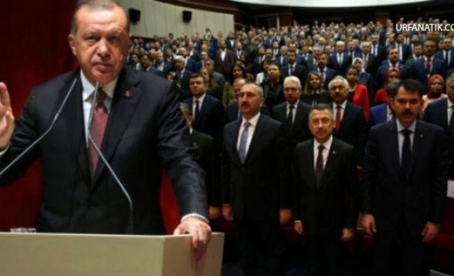 Erdoğan'dan Partililere Sert Uyarı