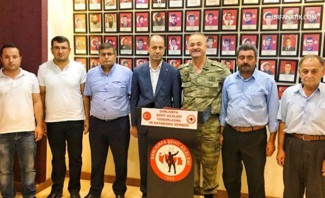 Tuğgeneral Köseali'den Başkan Yavuz'a Veda Ziyareti