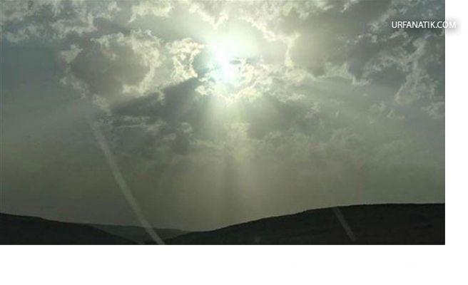 Siverek'te İnsan Suretli Bulut Gülümsetti